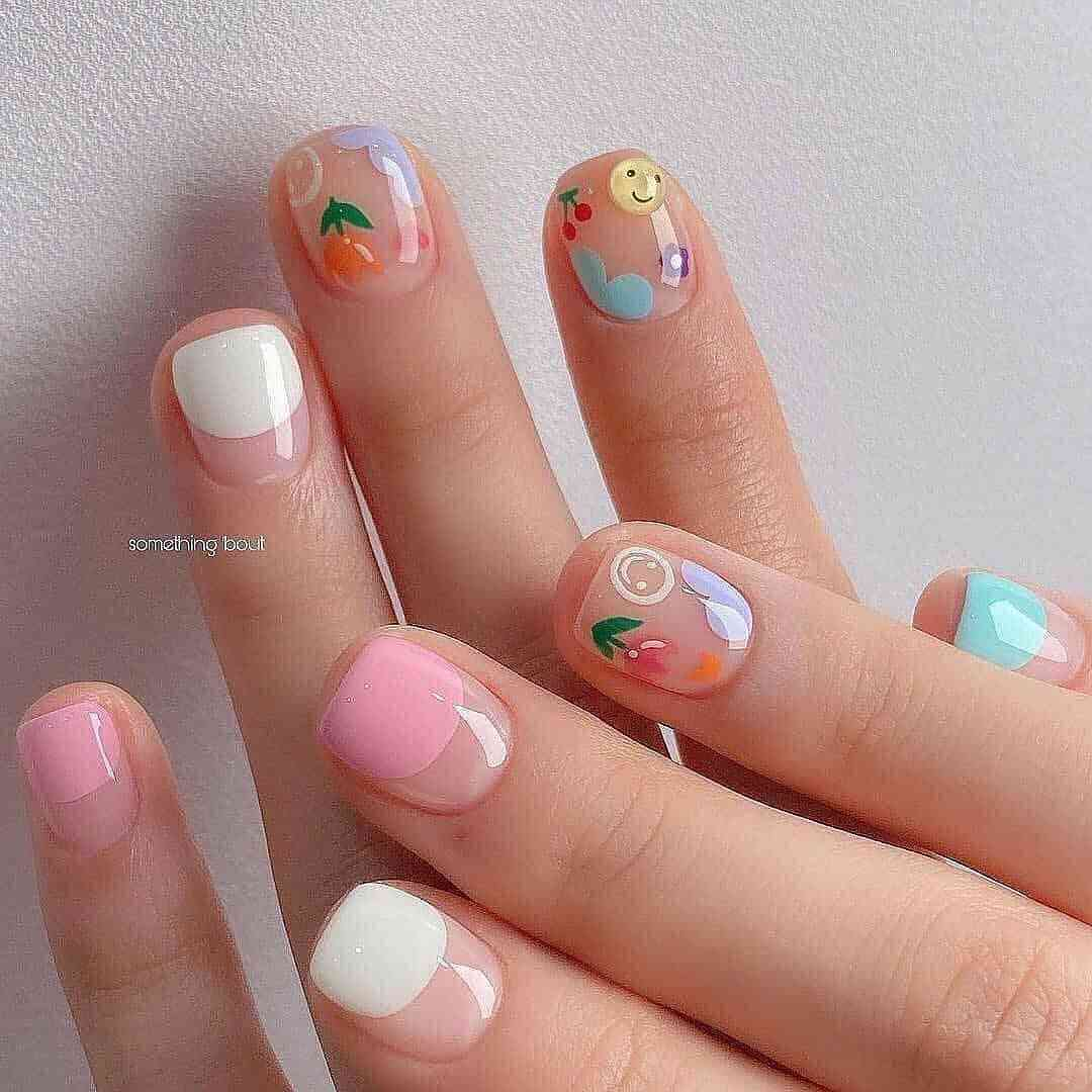 50+ Beautiful Summer Nail Designs For Women In 2021 images 1