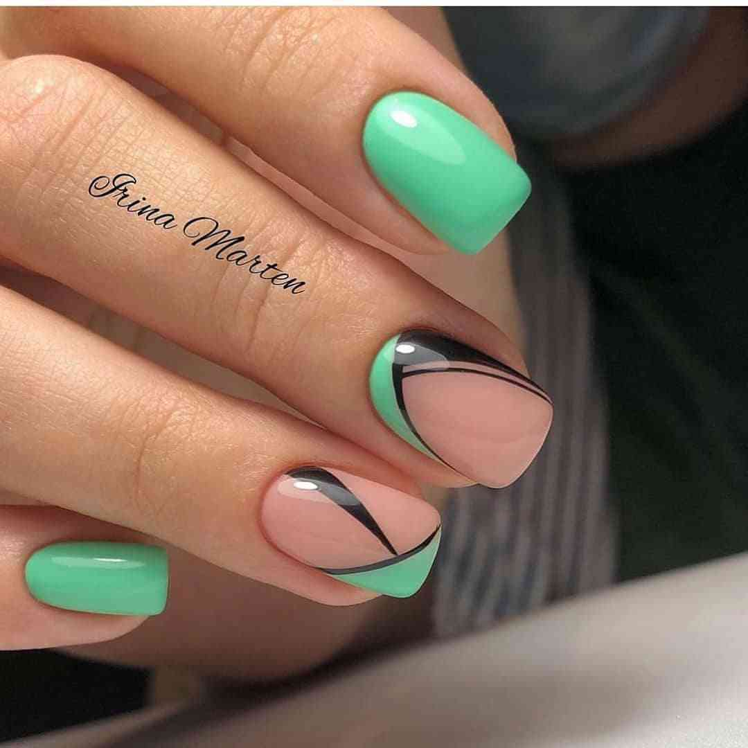 50+ Beautiful Summer Nail Designs For Women In 2021 images 6