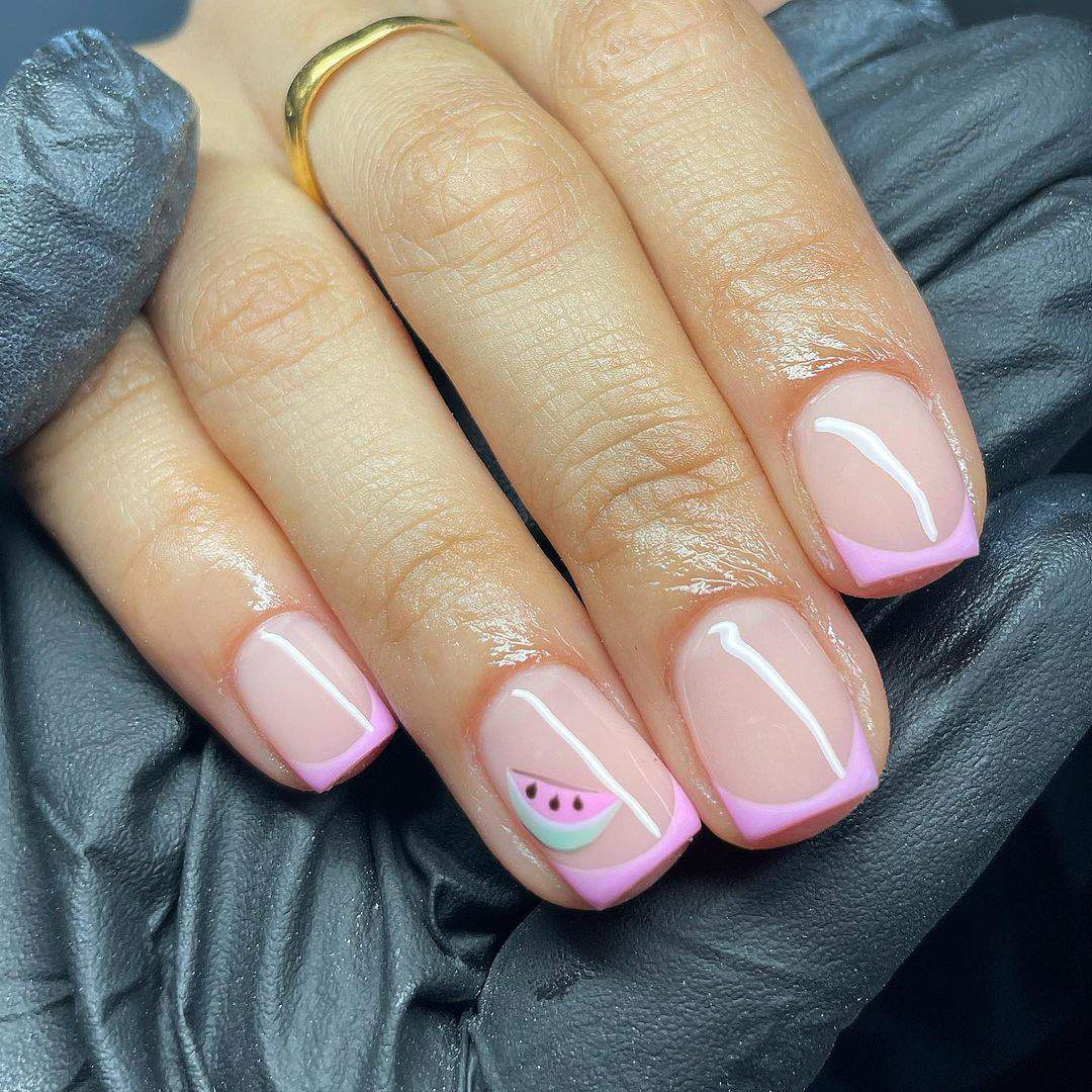 30+ Best Summer 2021 Nail Trends And Manicure Ideas images 1