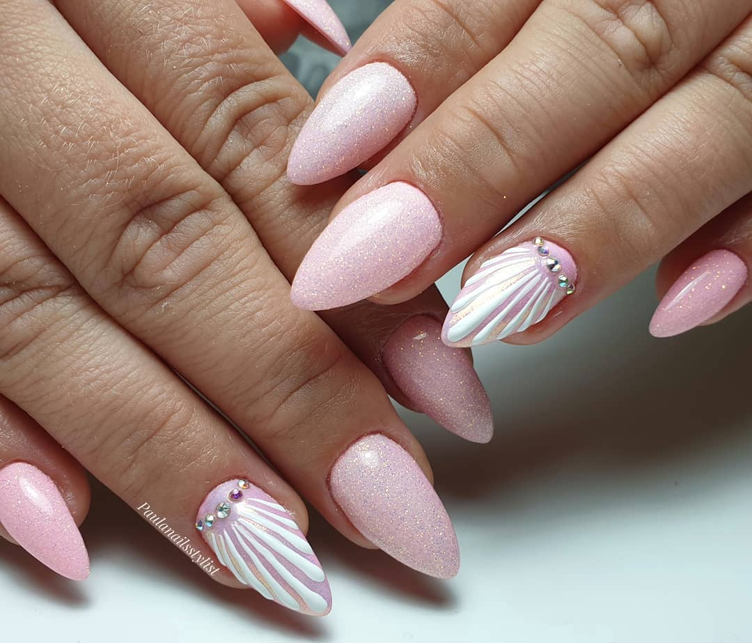 25 Trending Summer Nail Colors And Designs For 2021 images 2